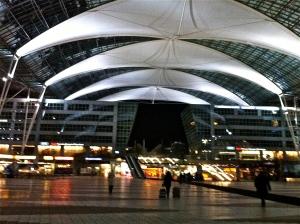 Aeropuerto de Múnich. 11/02/2013